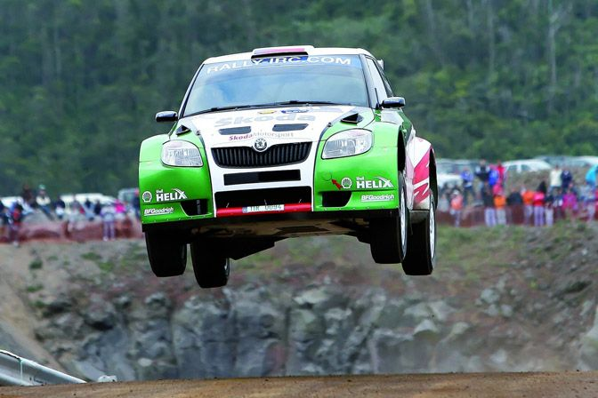 Skoda Flying Fabia #cars
