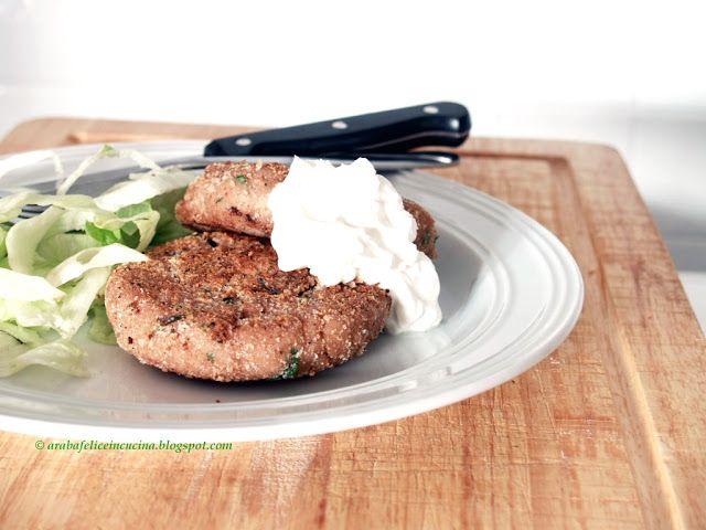 Arabafelice in cucina!: Burgers di tonno ( in scatola )