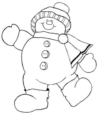 risco_boneco_de_neve_3 by Elaine Cristine, via Flickr