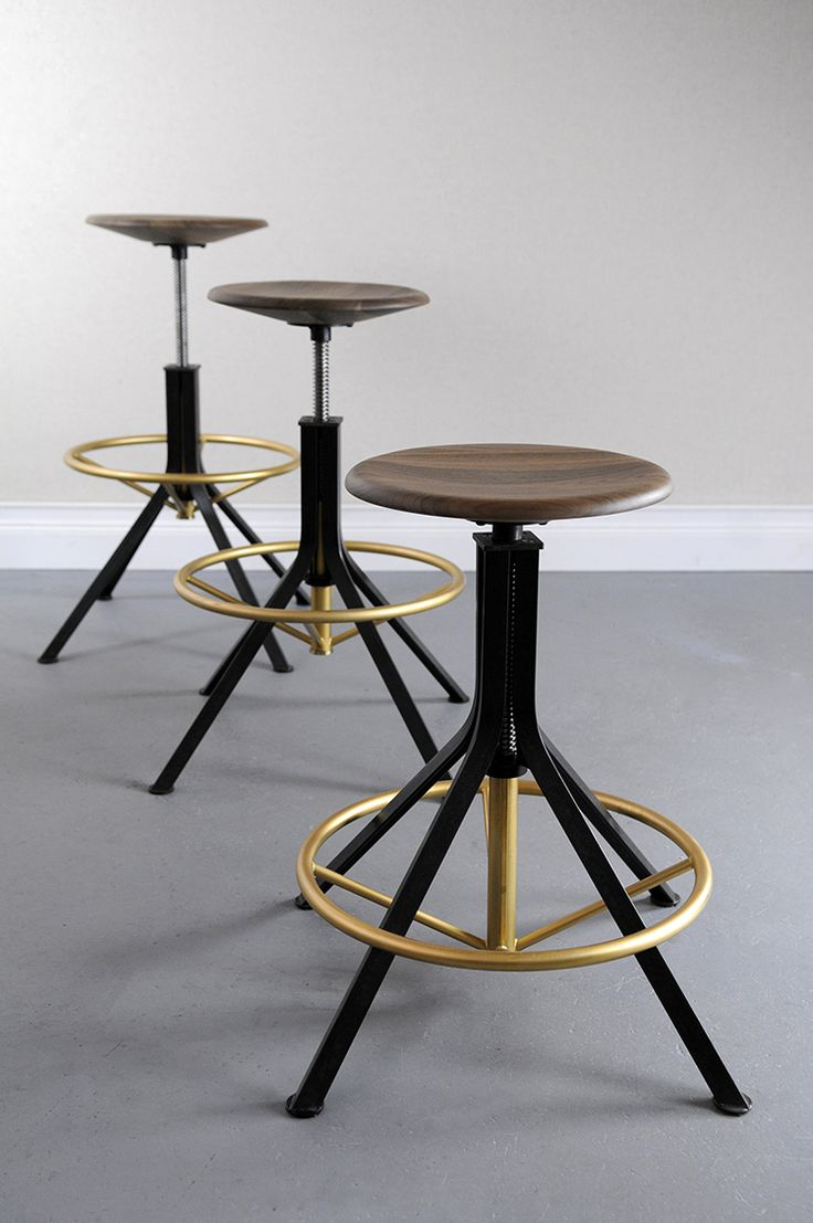 Unique Industrial Style Bar Stools