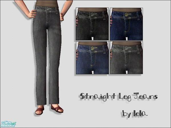 Lola's Straight Legged Jeans