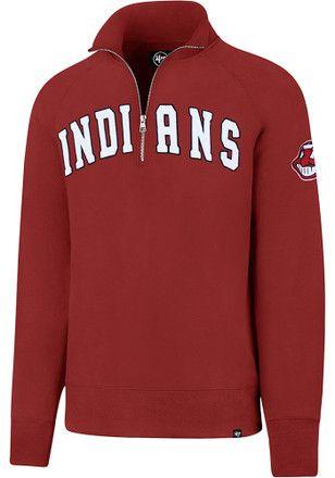 47 Cleveland Indians Mens Red Striker 1