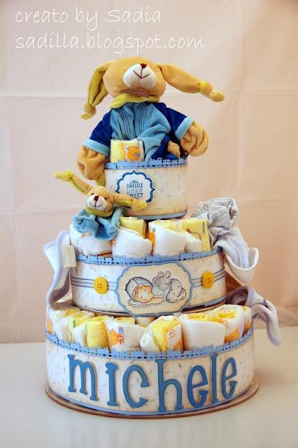 Torta pannolini by Sadia