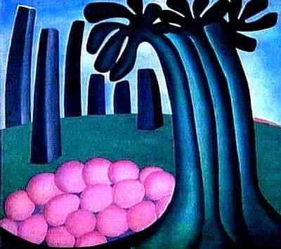 Floresta - Tarsila do Amaral. Arte Naíf, Surrealismo