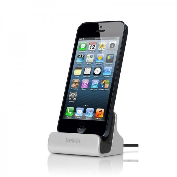 iPhone 5/5S Docking station Belkin Sync Dock iPhone 5/5S incl Audio Poort