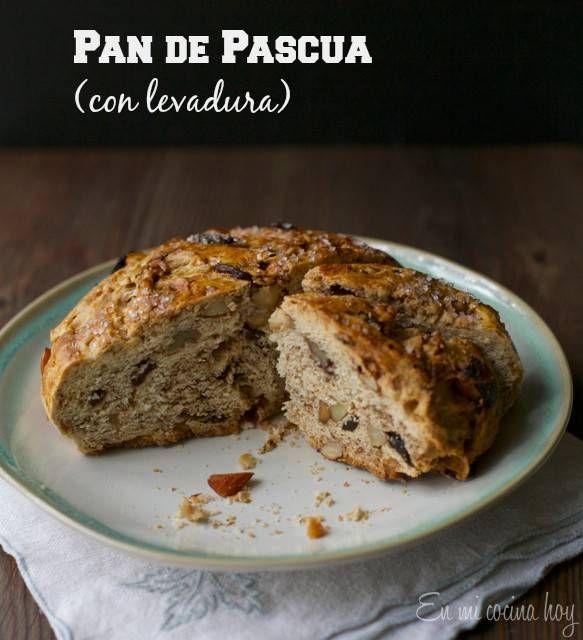 Pan de pascua con levadura