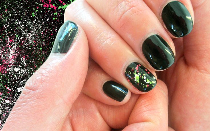 How-To: Splatter Nails | Beautylish