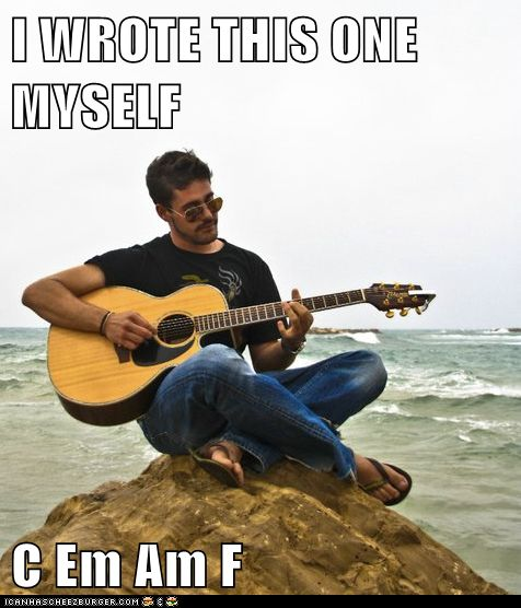 Acoustic Guitar Wallpaper For Facebook Cover With Quotes: Douchebag Guitar Meme