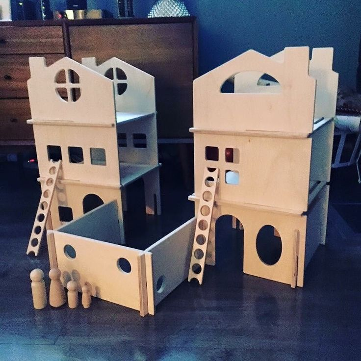 """We love receiving your feedback for our toys especially after the holiday season! Please share your reviews on @Etsy @handmadeatamazon or our website! A happy customer recently shared: """"Dollhouse is amazing. Very well built!"""""""