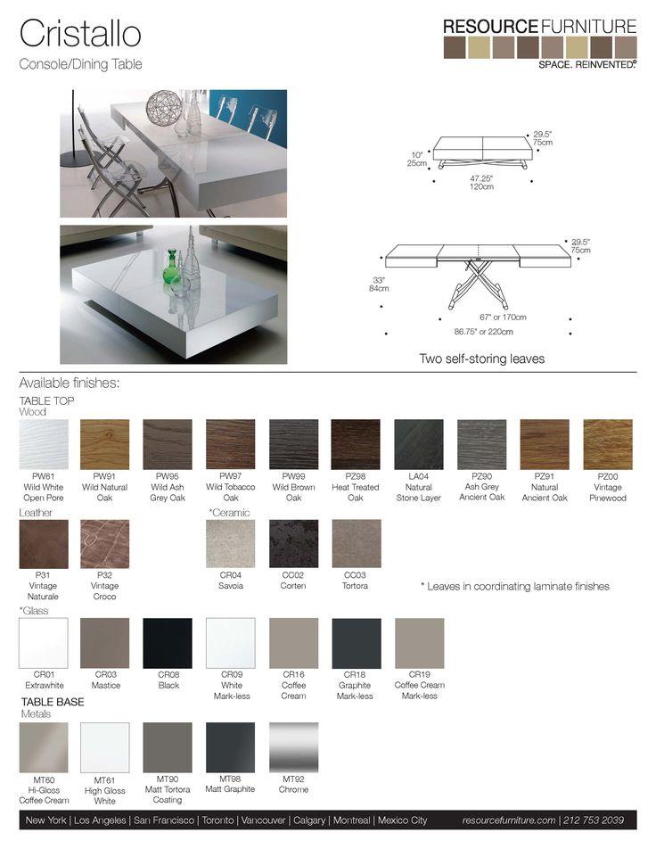 Cristallo   Resource Furniture   Transforming Furniture