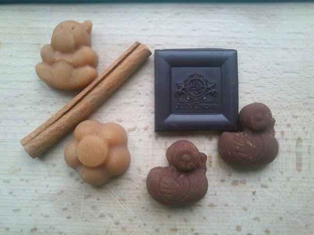 Fahéjas és csokis mysos.