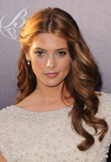 Ashley Greene Elegant Half Up Half Down Hairstyle for Homecoming | Hairstyles Weekly