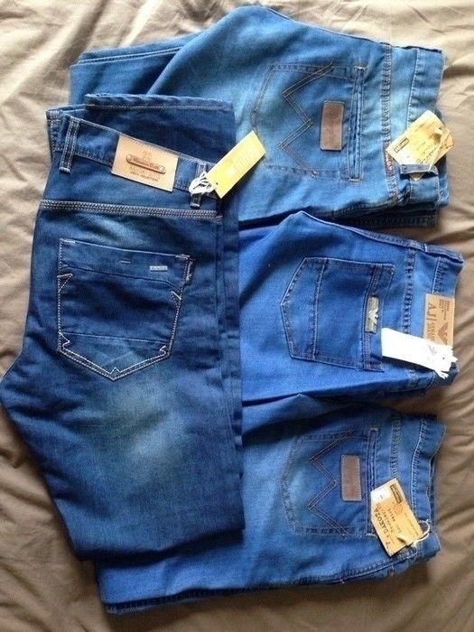 LOT de jeans neufs coupe boyfriend de marque . Taille 42 / XL à 120.00 € : http://www.vinted.fr/mode-hommes/jeans-coupe-droite/14492608-lot-de-jeans-neufs-coupe-boyfriend.