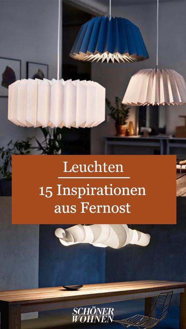 Papierleuchten Papierlampen Mit Bildern Hangeleuchte Beleuchtung Decke Stehlampe