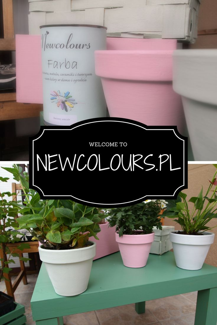 Newcolours paints: excellent for wood, ceramics, mdf. Farby Newcolours: doskonałe do drewna, ceramikim MDF :) Newcolours.pl