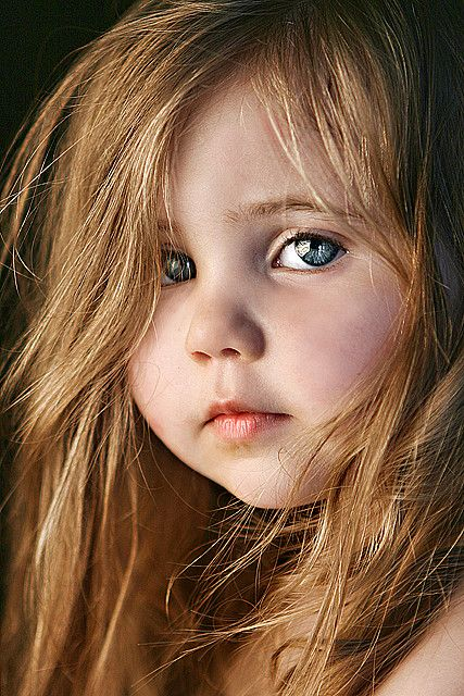 I love this little girl's face