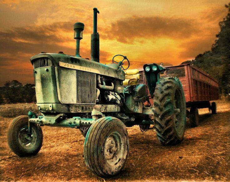 Die besten 25 Old john deere tractors Ideen auf Pinterest  John