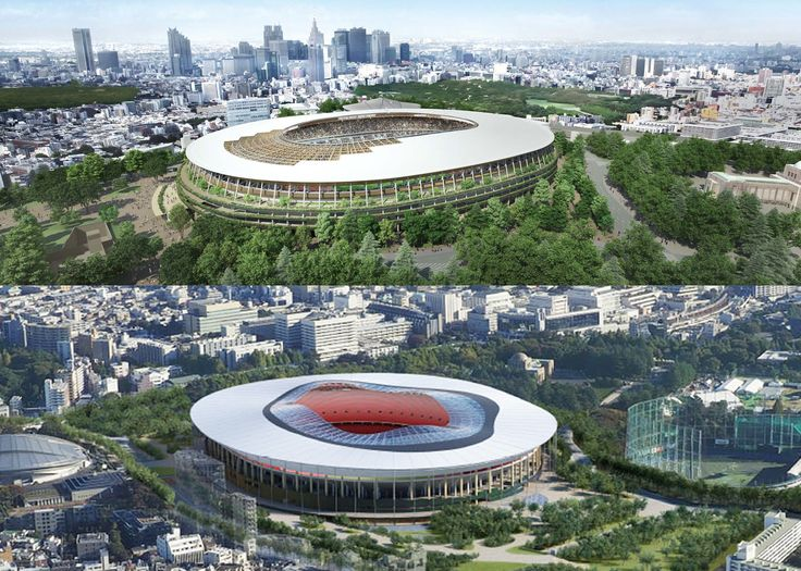 Kengo Kuma and Toyo Ito bid for Tokyo Olympic Stadium