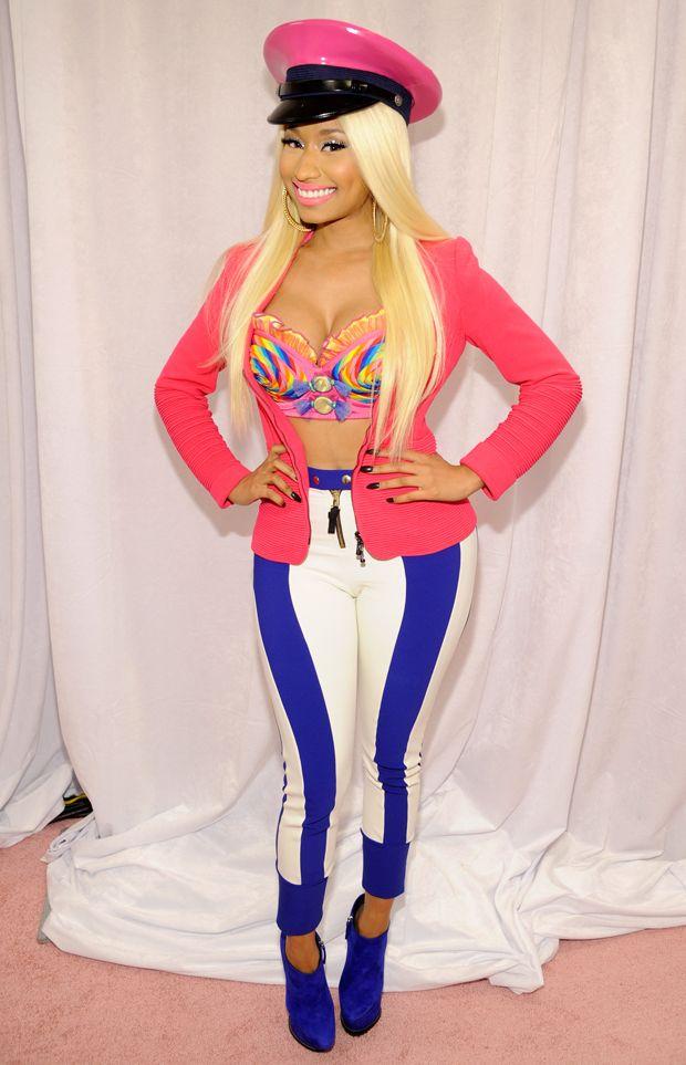 Nicki Minaj | Nicki Minaj attends her 'Pink Friday' fragrance launch at Macy's, NYC