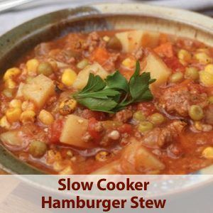 Weight Watchers Recipe of the Day: Crock Pot Tomato Beef Macaroni Soup - 5 SmartPoints - Simple Nourished Living