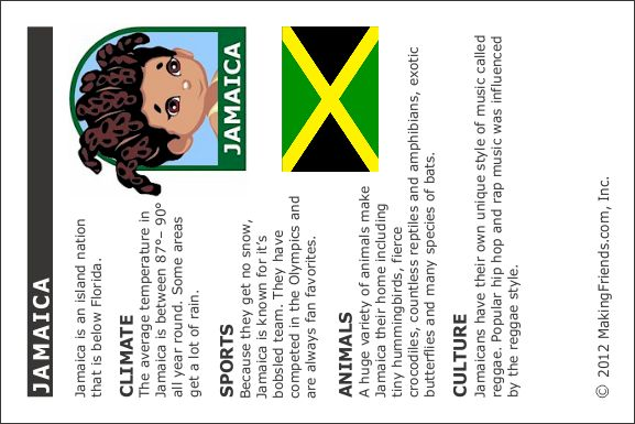 Girl Scout Brownies, A World of Girls Journey: Jamaica