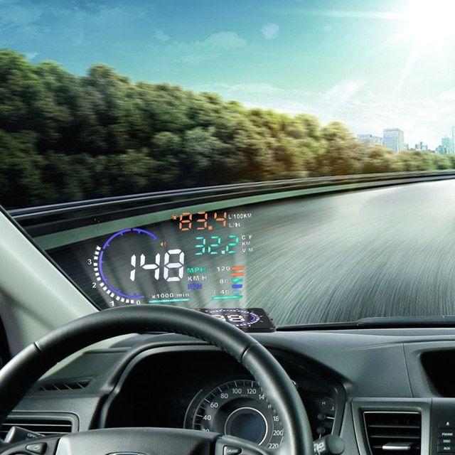 Multi Colour Design 5 5A8 Car HUD Head Up Display Windshield