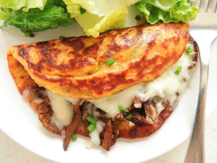 Cachapas - Colombian and Venezuelan Corn Pancakes