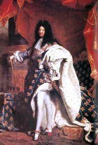 Louis XIV, le roi-symbole de la monarchie absolue. La monarchie absolue est un régime politique dans lequel le roi a tous les pouvoirs. En France, le roi Louis XIV mort en 1715 symbolise l'apogée de l'absolutisme.  Dans une monarchie absolue, le roi est en possession des trois pouvoirs: législatif (celui de créer des lois), exécutif (celui de faire appliquer une loi) et judiciaire (le droit de rendre la justice, c'est-à-dire de juger et de rendre son verdict).