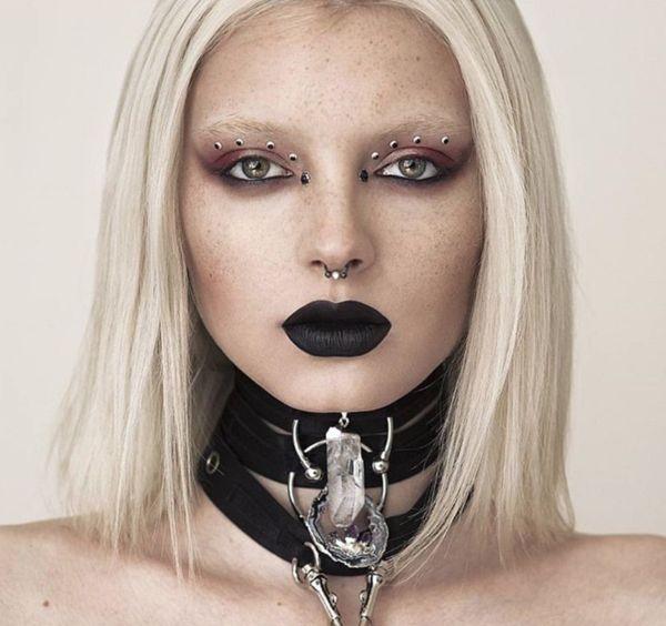 Jeffree Star Velour Liquid Lipstick in Weirdo- The blackest black matte lipstick on earth!