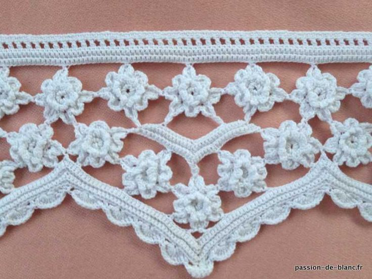 839 Best Crochet Edgings Images On Pinterest Crocheting