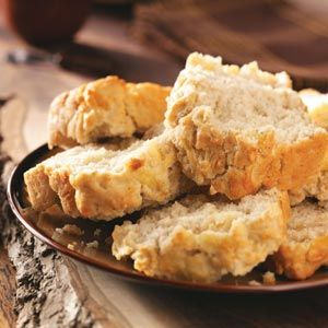Swiss Beer Quick Bread - So easy, and so good. The crust is amazing. Recipe doesn't specify type of beer to use, I used my hubby's home-brewed Amber ale.