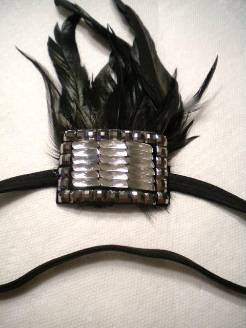 Dollar Store finds - DIY 1920s Headband