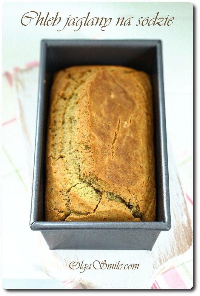 Chleb jaglany na sodzie bezglutenowy    No to jest już dziś. Chleb jaglany na sodzie bezglutenowy jest łatwą i szybką alternatywą dla klasycznego pieczywa, dla wszystkich osób uczulonych na gluten, drożdże lub zakwas chlebowy. Ale nie tylko,