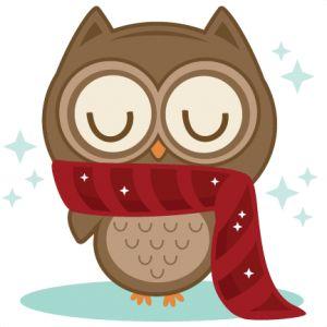 Winter Owl SVG scrapbook title winter svg cut file snowflake svg cut files for cricut cute svgs free