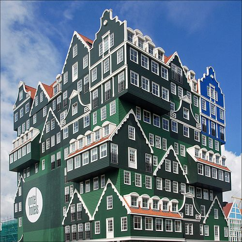 Inntel Hotel Zaandam by Foto Martien, via Flickr