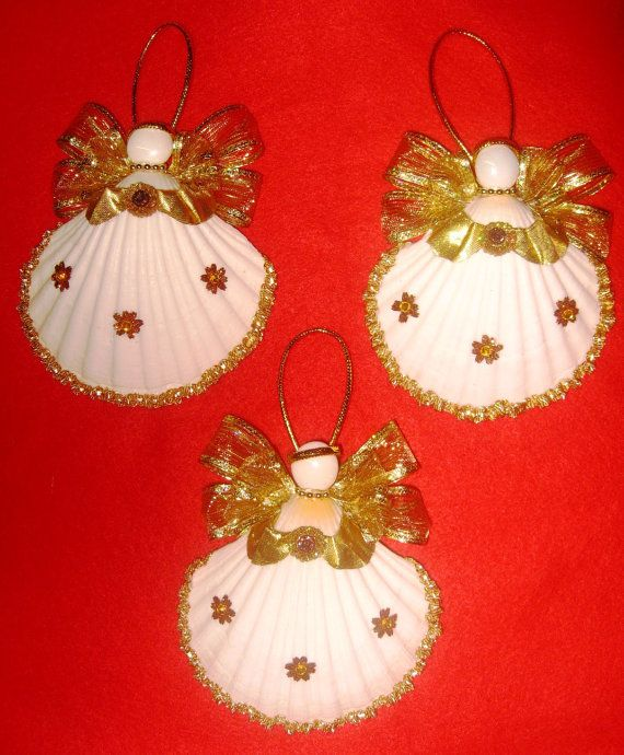 Best images about seashell ornaments on pinterest