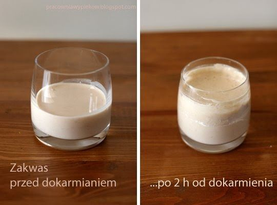 Najprostszy przepis na zakwas jest taki: kubek mąki żytniej+kubek ciepłej wody+łyżeczka jogurtu* = zamieszać (w słoiku), zostawić na noc na ...