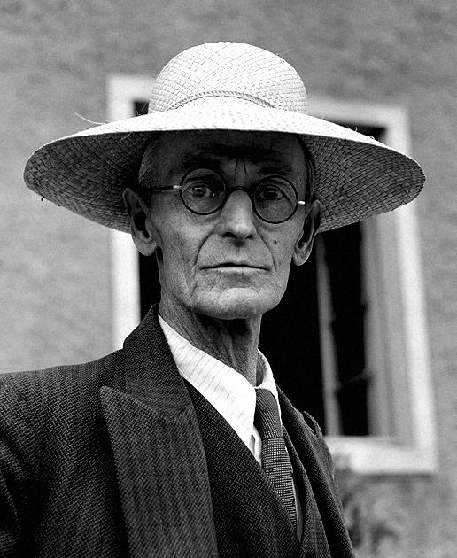 "Hermann Hesse-""I have been and still am a seeker, but I have ceased to question stars and books; I have begun to listen to the teaching my blood whispers to me…"""