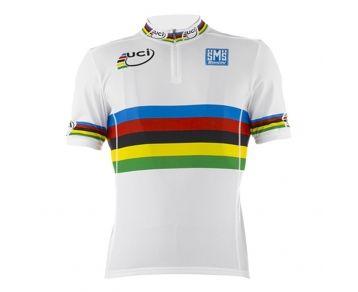 SANTINI UCI World Road Champion Short Sleeve Men's Cycling Jersey