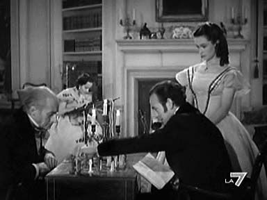 """Cime tempestose"" (Wuthering Heights, 1939) di William Wyler con Laurence Olivier #Chess #Scacchi #WutheringHeights"
