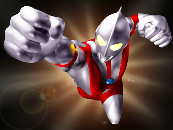 This is Ultraman, the hero from a kaiju series in Japan. My little brother Dante' loves the Ultraman series, and he is currently expanding his collection of Ultraman figures. He owns the entire regular Ultraman series. Did I mention he's only 5?