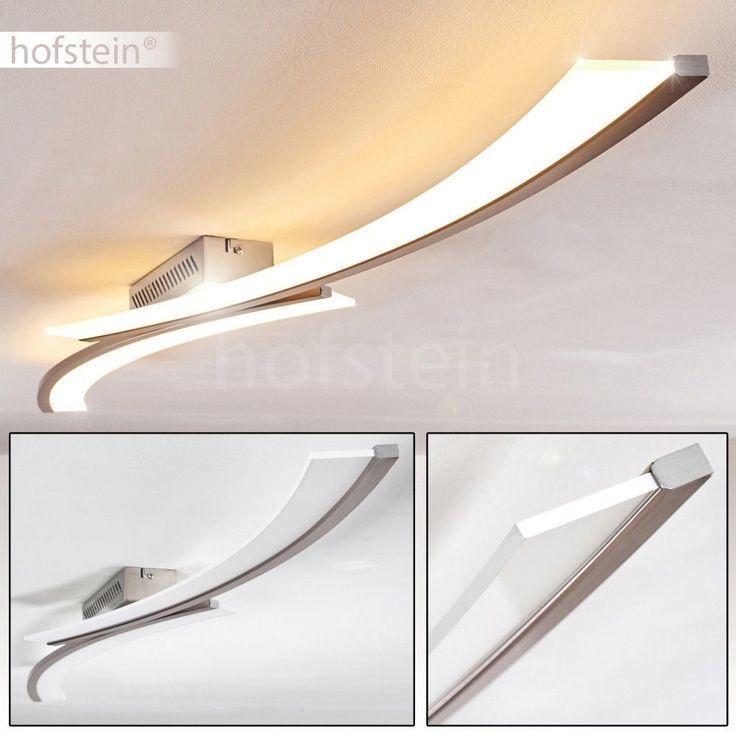 LED Decken Lampe Schlaf Gäste Zimmer Blatt Gold Effekt Wellen Leuchte D 60 cm