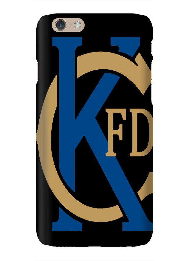 Kansas City Fire Department KC Baseball Phone Case