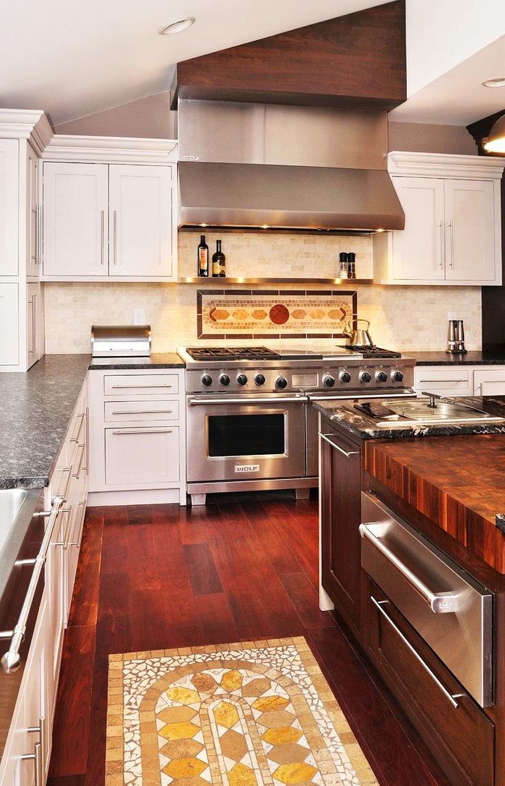 Large maple with wenge butcher block countertop in pennsylvania - Thick Butcher Block Custom Walnut Butcher Block Countertop In West Chester Pennsylvania Big Kitchen