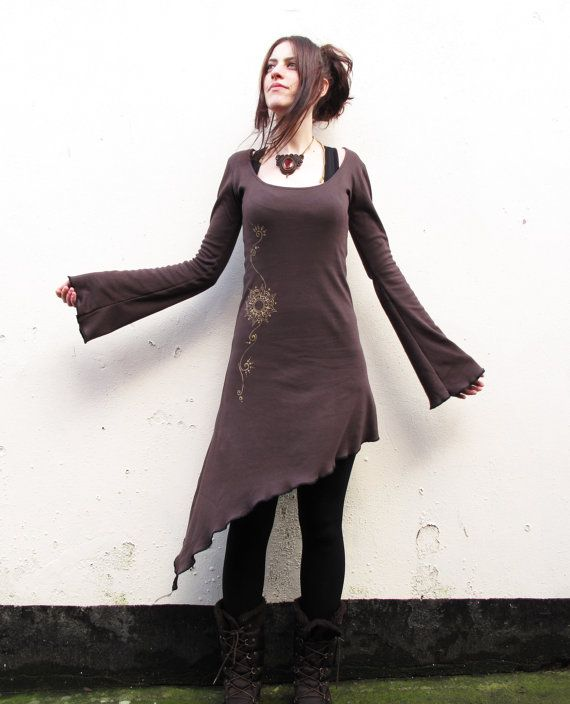 Pixie dress. Elven dress. Goddess dress. Mandala. Boho. Sacred geometry. fairy dress. Festival dress, burning man, maxi dress, psy,