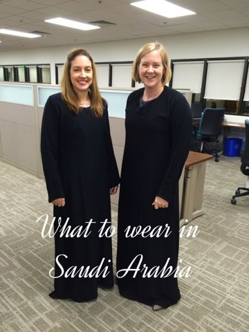 What to wear as a woman in Saudi Arabia