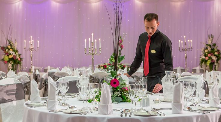 Wedding Guest tables at the loughrea hotel and spa