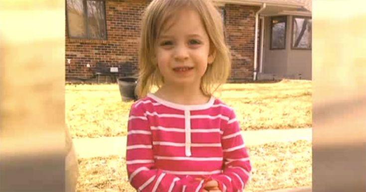 En uppmärksam moster räddade flickans liv.