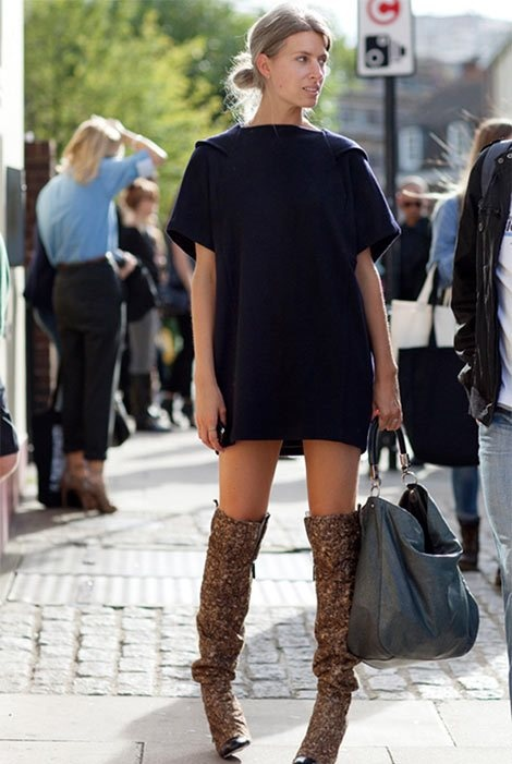 1000  images about Thigh high boots outfit on Pinterest | High ...