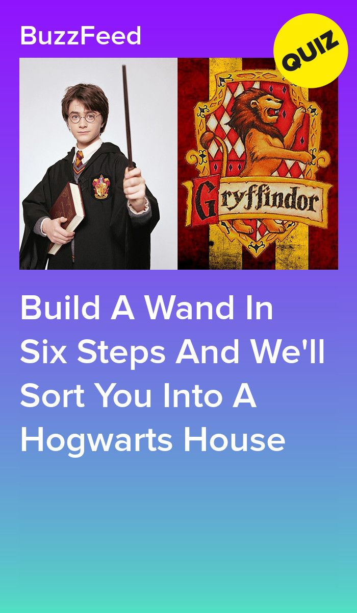Build A Wand And We'll Reveal Which Hogwarts House You